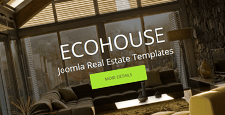 more best real estate joomla templates feature