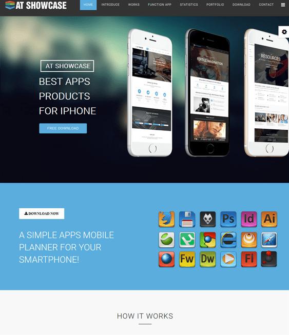 atshowcase promoting apps joomla templates