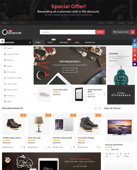 big boom woocommerce themes