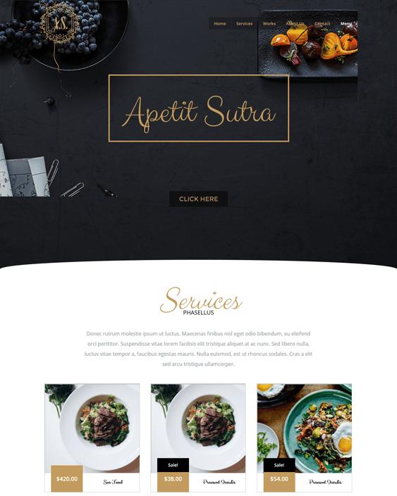 hybriduniverse restaurant wordpress themes