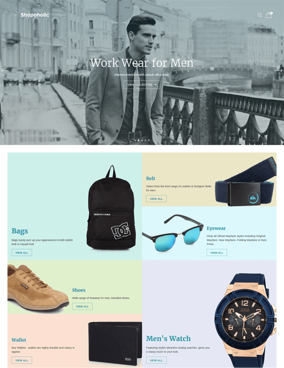 shopoholic woocommerce themes