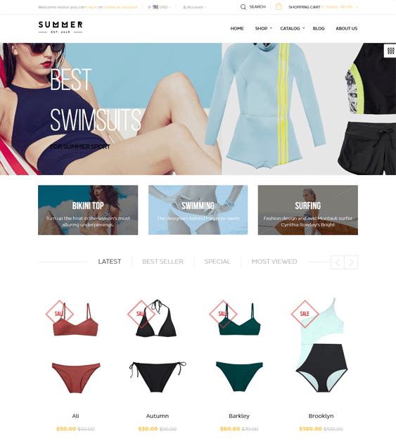 ap bikini swimwear lingerie shopify themes