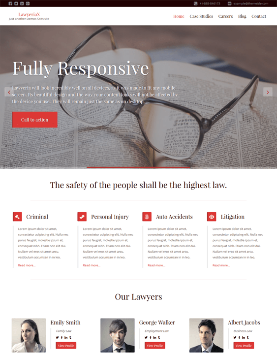 lawyeria lawyers attorneys wordpress themes