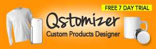 qstomizer t-shirt stores shopify apps