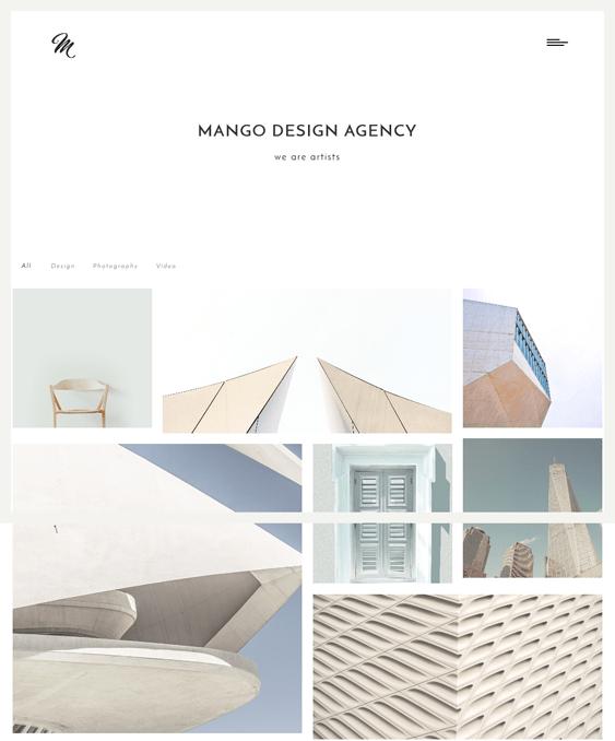 mango masonry wordpress themes