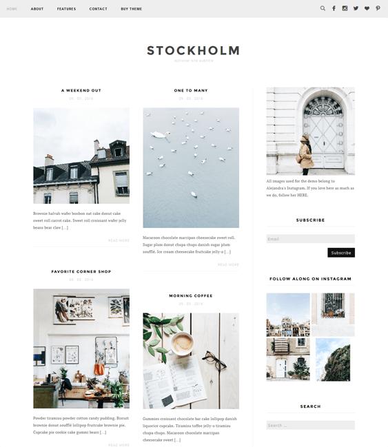 stockholm masonry wordpress themes