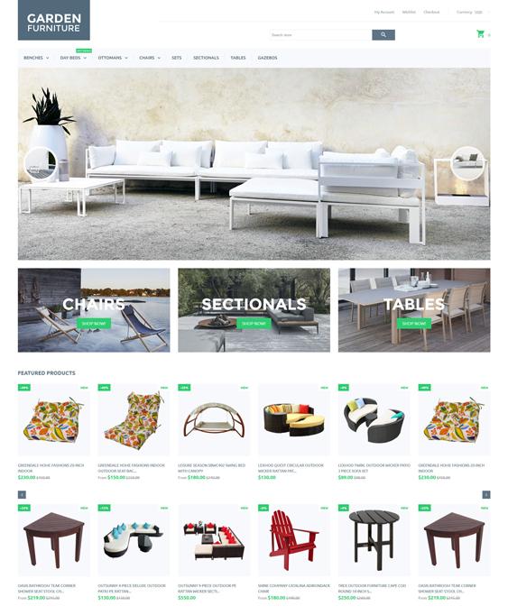 Garden shopify themes furniture homewares