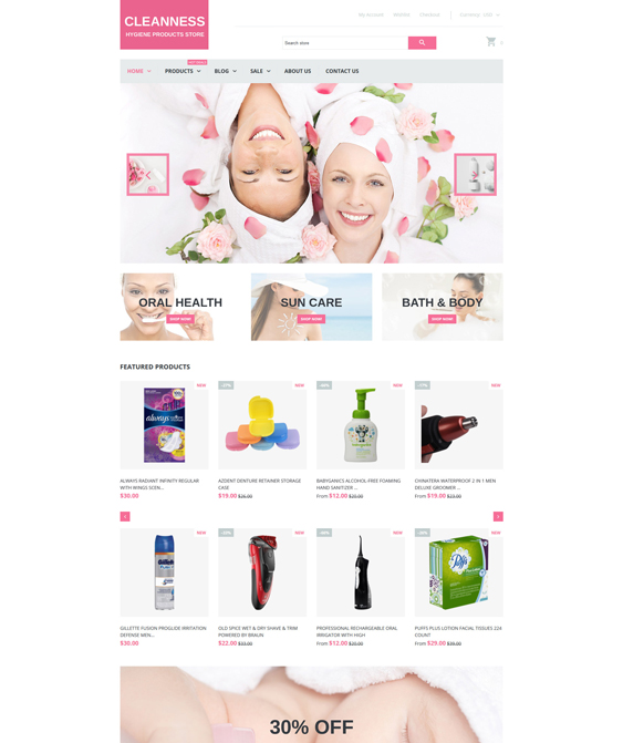 Spa Accessories responsive shopify themes