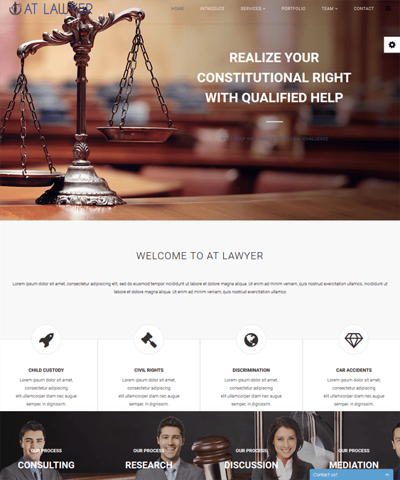 at lawyers law firms joomla templates