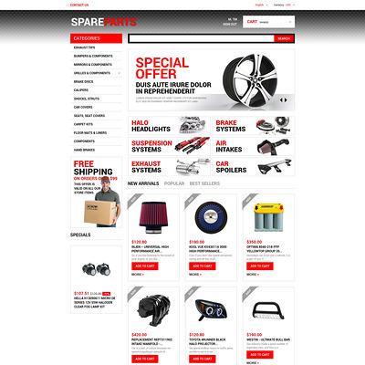 Motor Spares PrestaShop Theme (PrestaShop theme for car, vehicle, and automotive stores) Item Picture