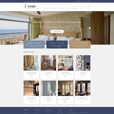 Responsive Decor Store PrestaShop Theme (PrestaShop theme for interior design and home decor) Item Picture