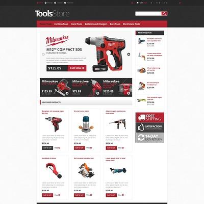Responsive Tools Store PrestaShop Theme (PrestaShop theme for selling tools) Item Picture