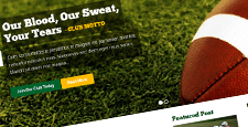 best sports wordpress themes feature