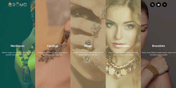 rome jewelry watch shopify themes
