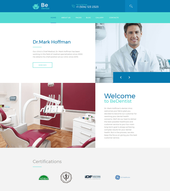 bedentist dental clinic dentist joomla templates