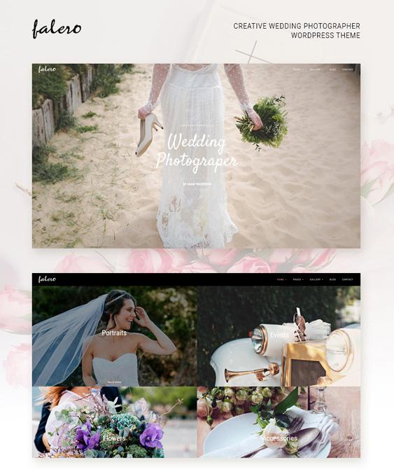 falero-prew wedding wordpress themes