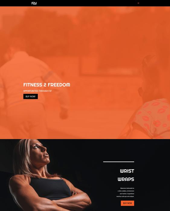 f2f fitness--gym-wordpress-theme