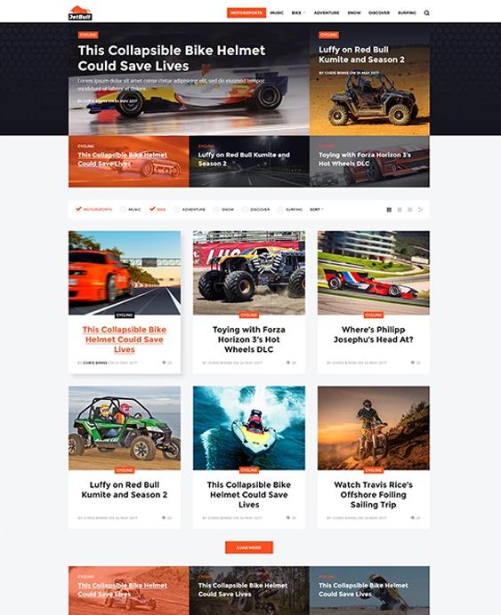 jetbull car vehicle automotive wordpress themes