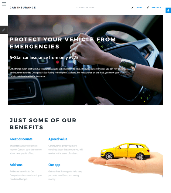 car vehicle automotive joomla templates insurance