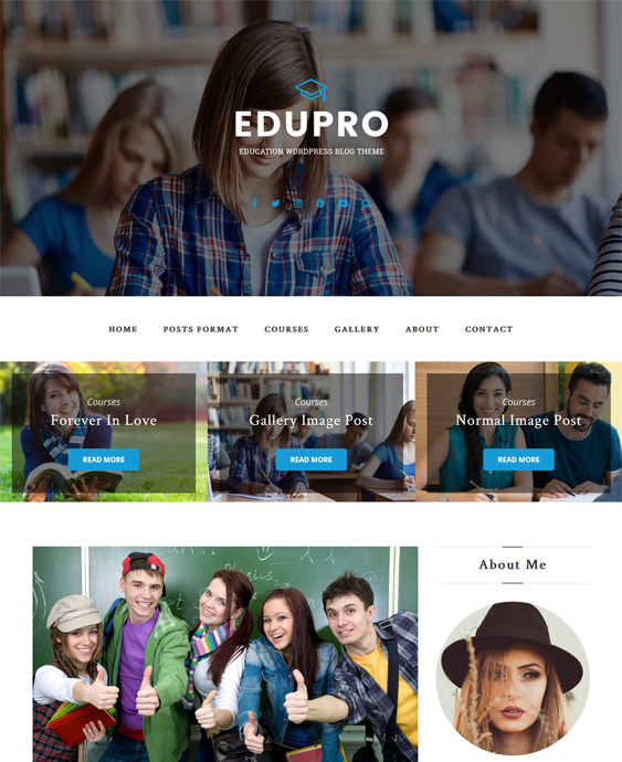 edupro education wordpress themes