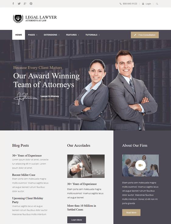 legal law firm lawyers attorneys joomla templates
