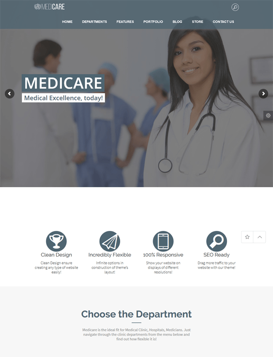 medicare medical wordpress themes