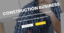 best joomla templates construction companies building contractors feature