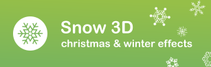 snow 3d snow shopify apps plugins