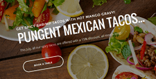 best wordpress themes mexican restaurants feature