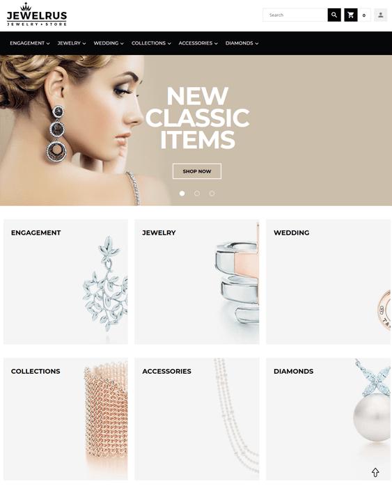 jewelrus magento themes jewelry stores