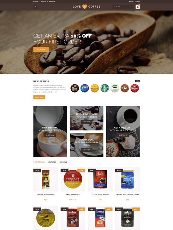 love-coffee-coffee-house- food drink restaurant opencart themes_63413-original