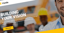 best construction wordpress themes feature