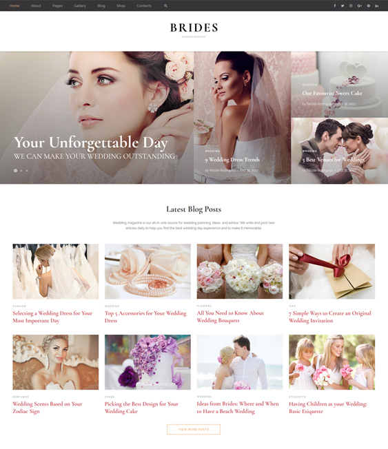12 of the Best Bootstrap Wedding Website Templates – <br />down