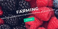 best farm agriculture joomla templates feature
