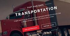 best bootstrap website templates transportation logistics shipping feature