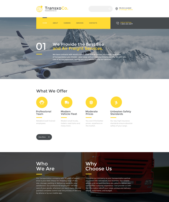 Of The Best Bootstrap Website Templates For Taxi Cab Companies - Information website template