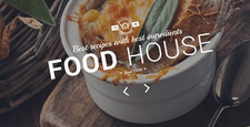 best restaurant drupal theme feature