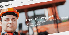 best wordpress themes construction companies feature