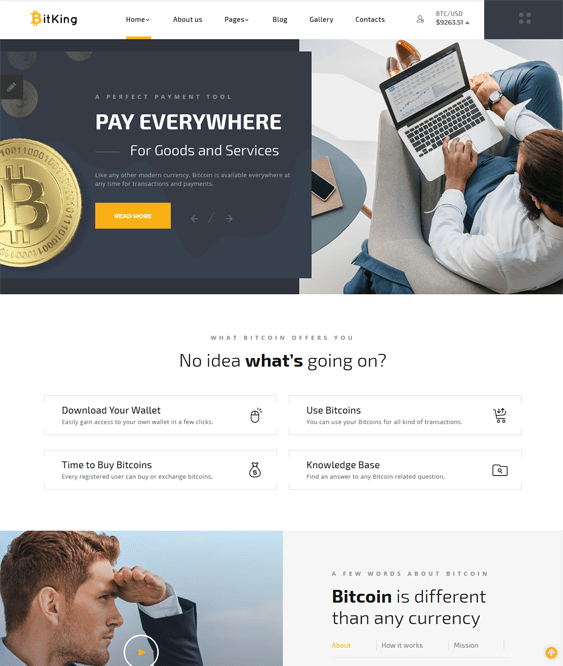joomla templates bitcoin cryptocurrency websites