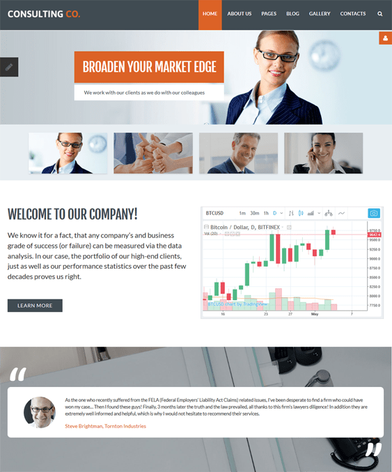 financial joomla templates finance websites