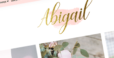best feminine wordpress themes feature