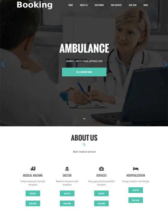 medical joomla templates for doctors clinics