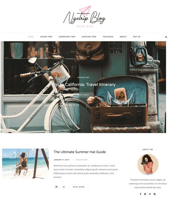 travel tourism wordpress themes