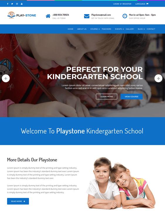 kids wordpress themes children baby