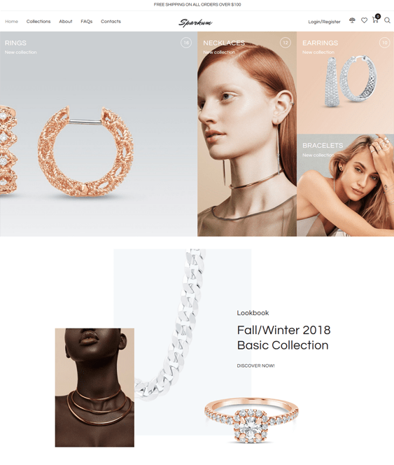 woocommerce themes for jewelry and watch stores