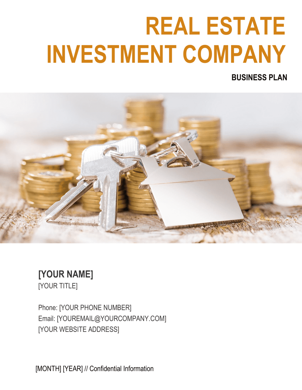 This real estate investment business plan sample has unveiled the basic requirements for writing your business plan. Real Estate Investment Company Business Plan Template By Business In A Box