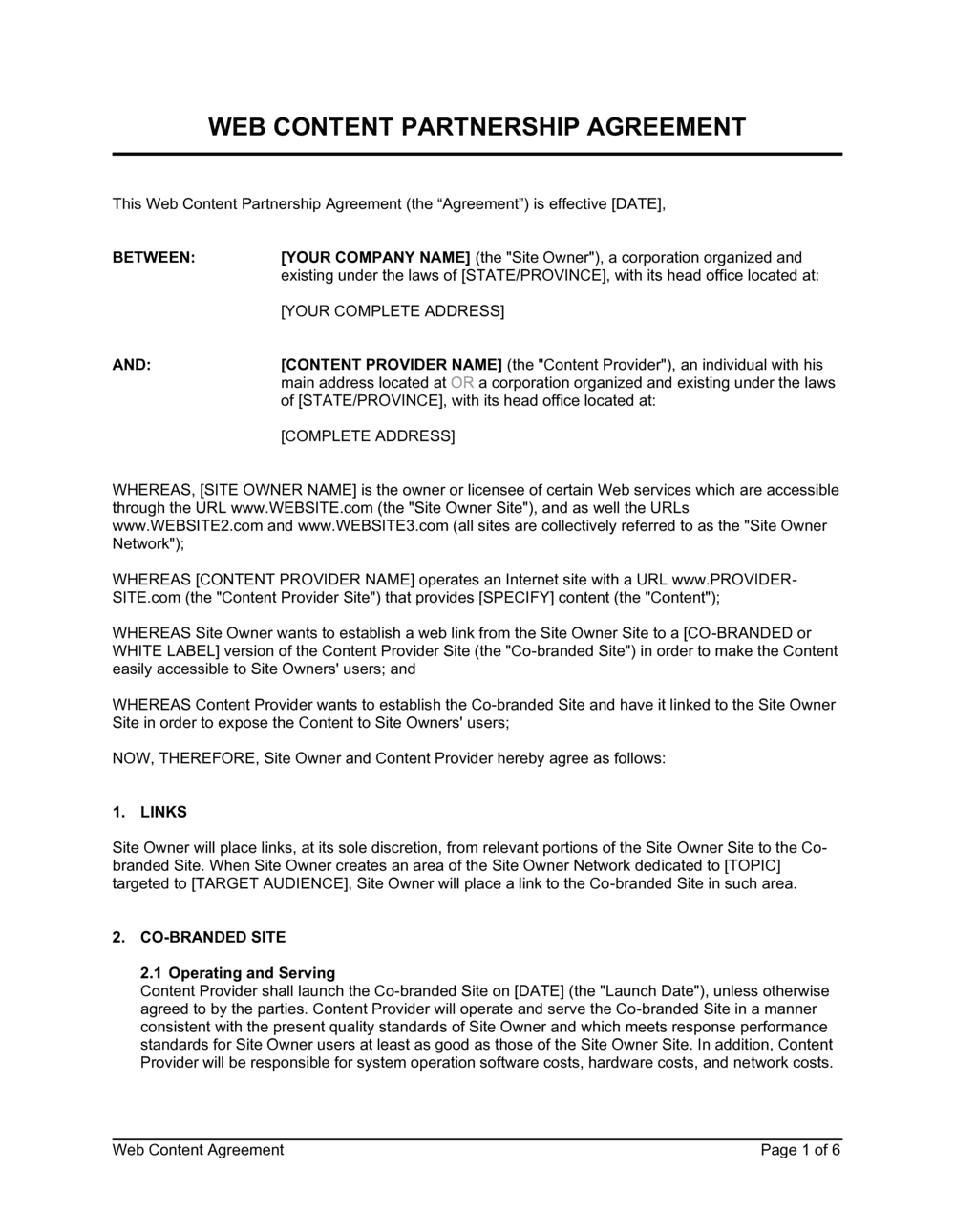 15/06/2021· a partnership agreement is a contract between two or more individuals who would like to manage and operate a business together in order to make a profit. Memorandum Of Cooperation Template By Business In A Box Info Wisata Hits