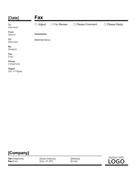 Download Business Fax Cover Letter Examples Template For
