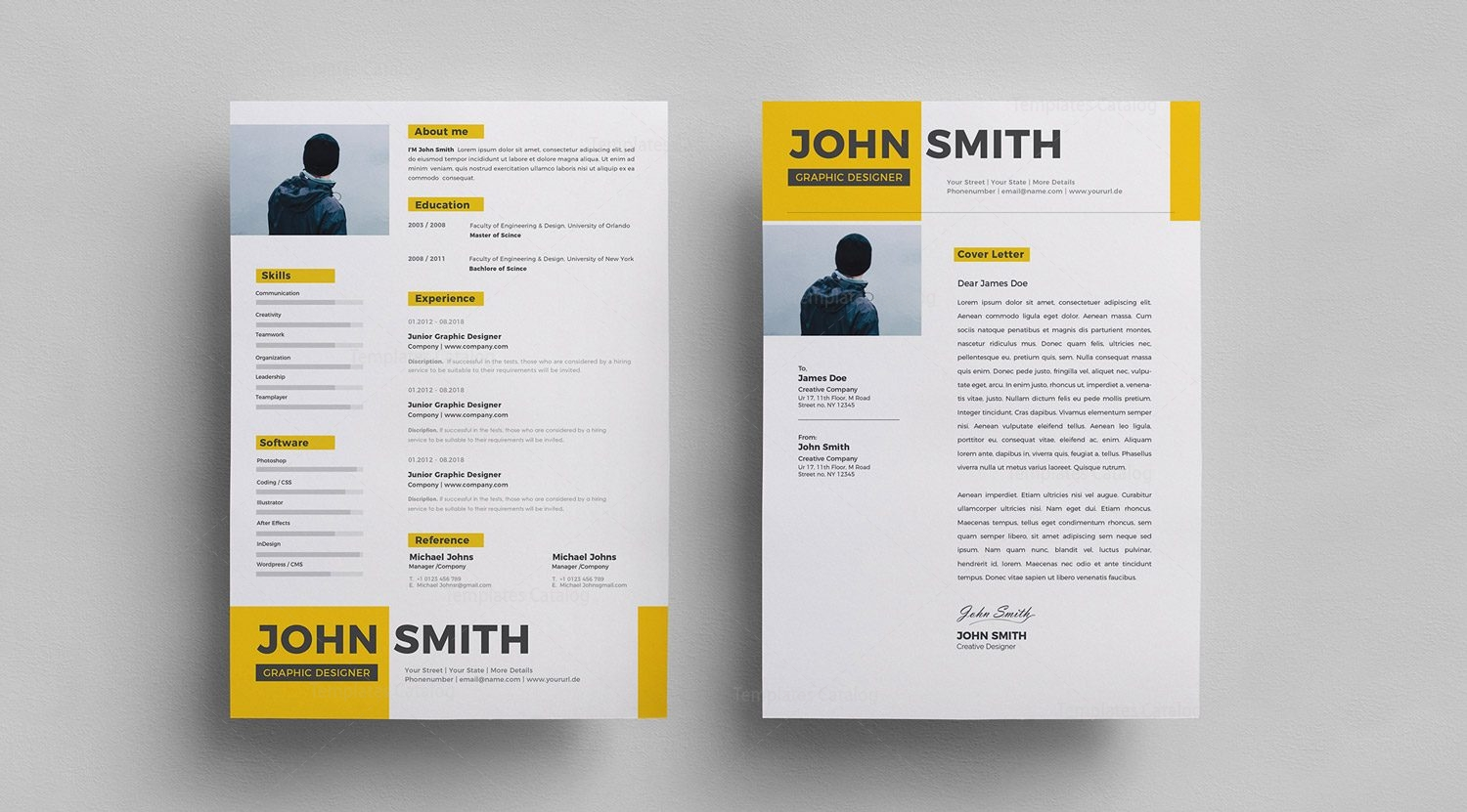 Resume Psd Template Free Psd Resume Templates Nmdnconference Example