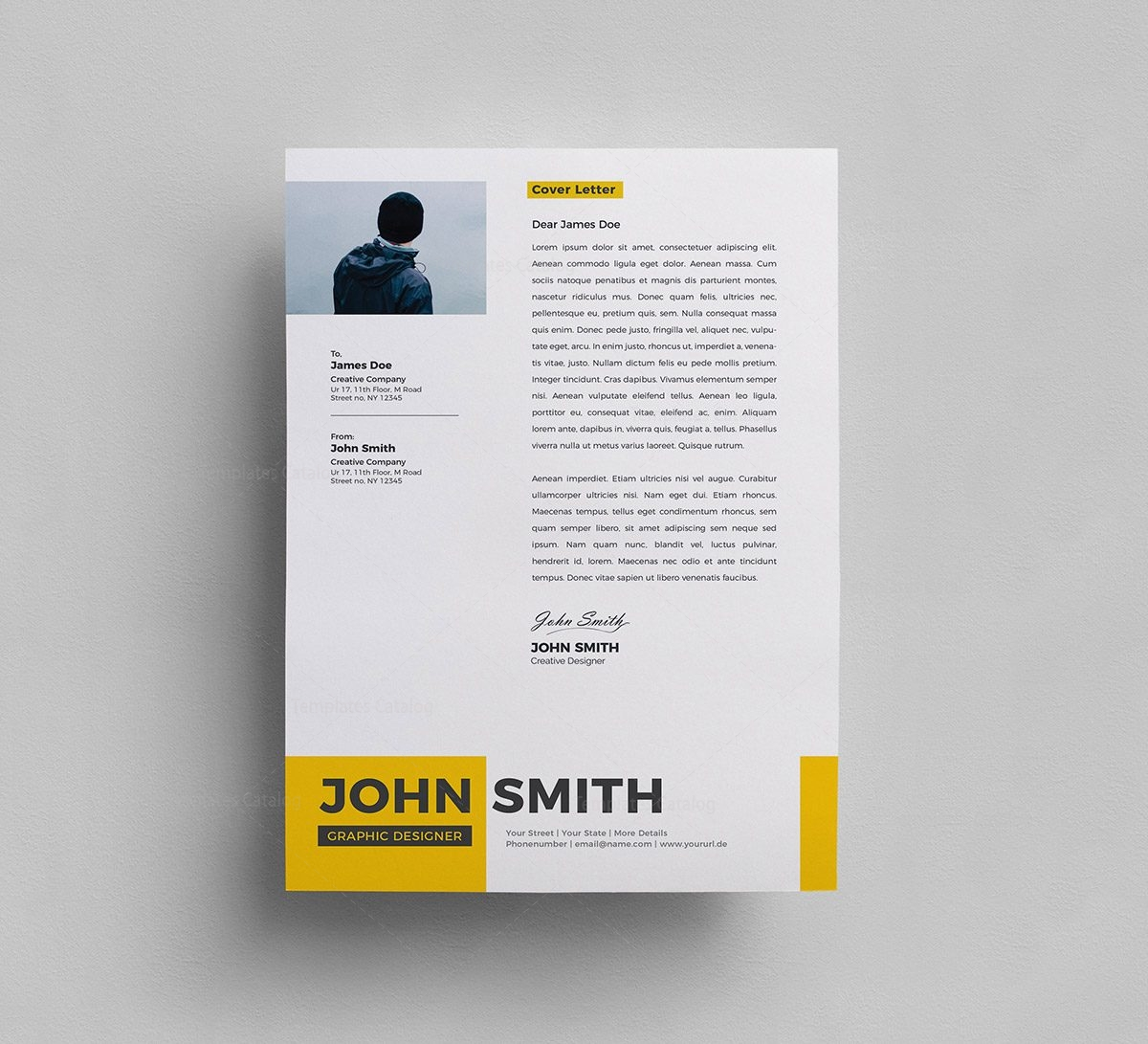 Resume Psd Template Free Psd Resume Template 000287 Template Catalog